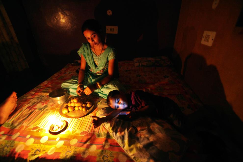India sin luz